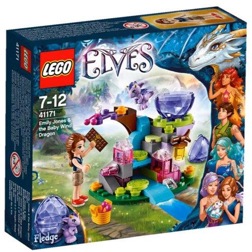 LEGO Elves - 41171 - Jeu de Construction - Emily Jones et le Bébé Dragon