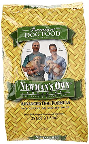 Newman's Own Organic Dog Food, Dry Advanced Formula, 25 lb