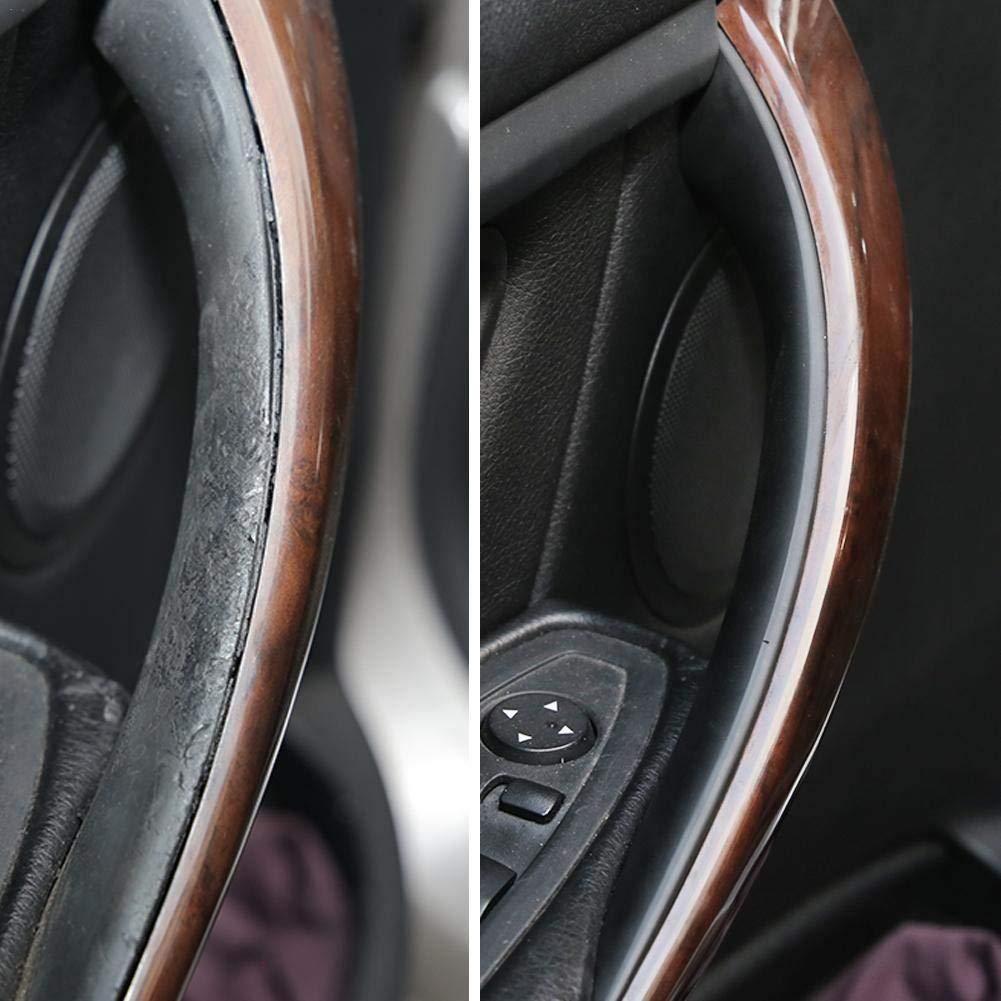 smontaggio Gratuito Copri Maniglia Porta Interni Auto per BMW F30 Serie F35 3 4 Nero Maniglione Interno Porta Auto 2 Pezzi Modifica Auto