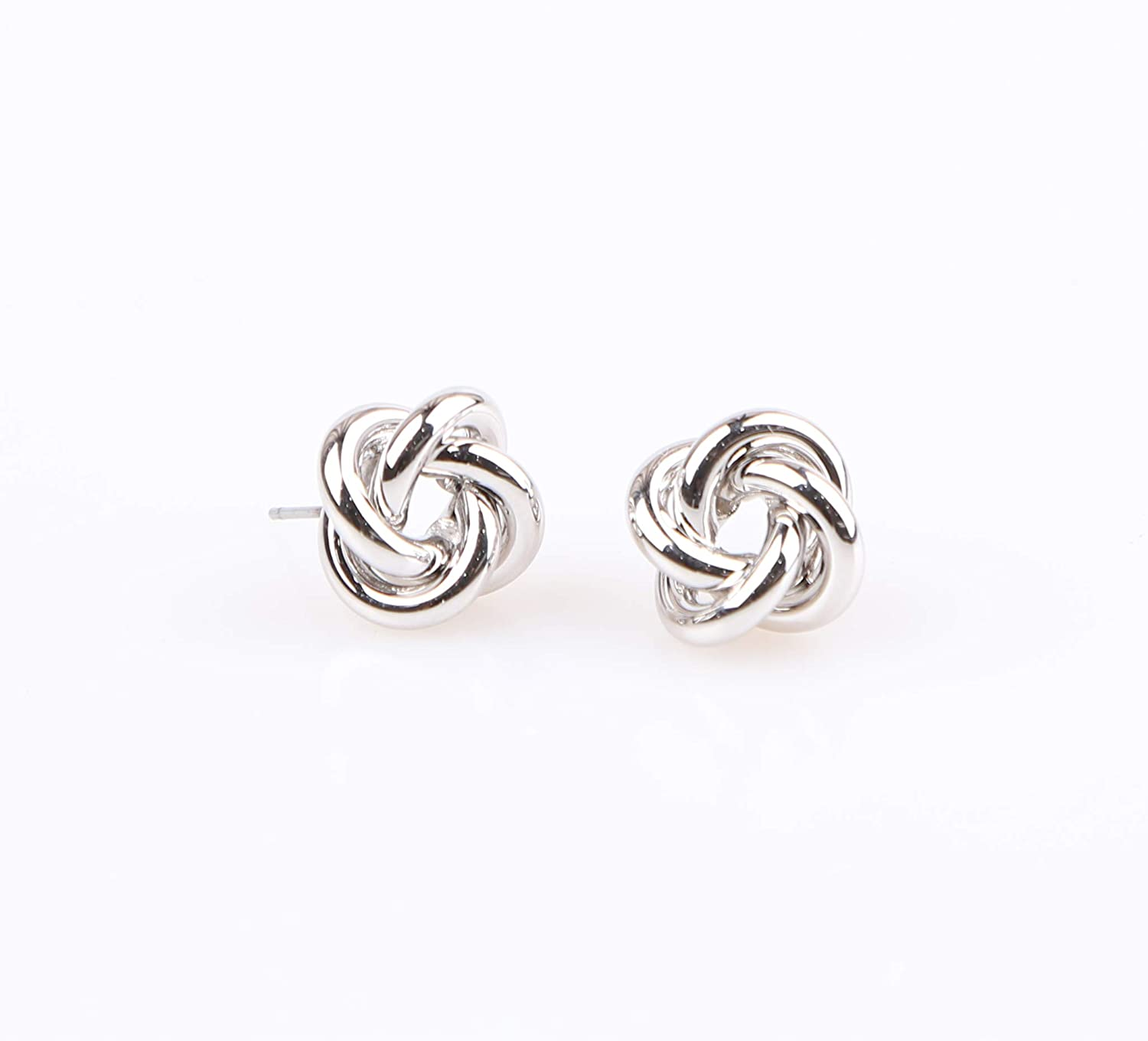 /'Flower 1/' Nickel Free Post Special Occasion /& Daily Wear Accessories Comes in a Gift Box//K-POP Korea Style Heavens Hailey Urban Style Metallic Stud Earrings