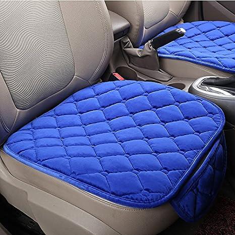 2 Packung Vordersitzbezug HCMAX Weich Autositz/überzug Kissen Pad Matte Schutz f/ür Autozubeh/ör f/ür Limousine Flie/ßheck SUV