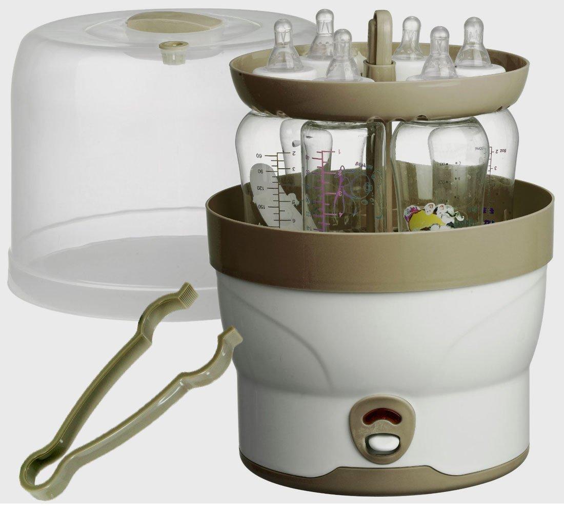 Stérilisateur électrique à vapeur d'eau pour 6biberons H+H