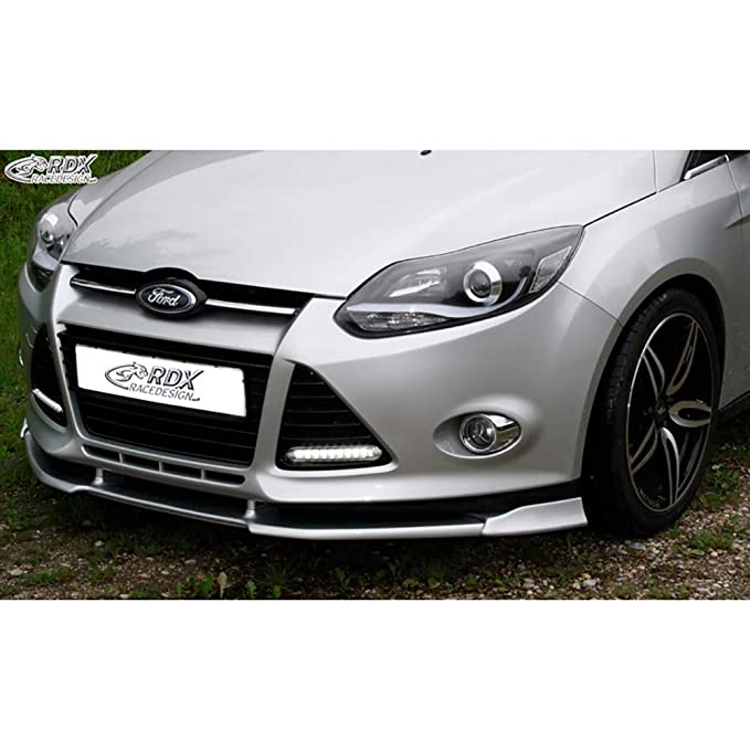 Schwarz Focus MK3 Streben Gelembleme Cover Frontgrill