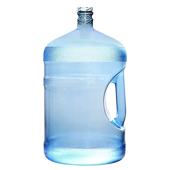 For Your Water 5 Gallon 18 92 Liter Polycarbonate Plastic Reusable Water  Bottle Container Jug with Handle (Made in USA) 48MM Screw Cap 10 75