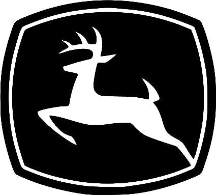 Amazon John Deere Logo Chrome Decal 5 X 45 Mirrored Vintage