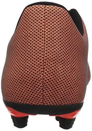 Adidas Prestaties Heren X 17,4 Fxg Zwart / Zonne-rood / Zonne-oranje