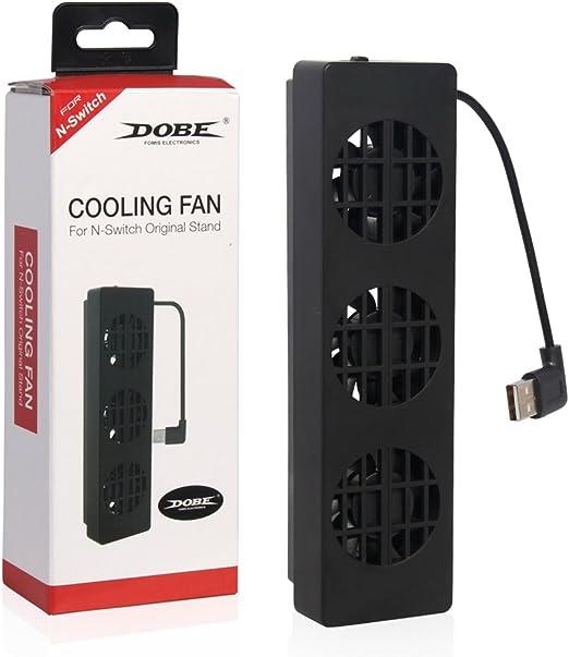 Junlinto, DC 5V 3-Fan Externo Super USB Enfriador de Ventilador ...