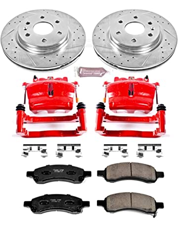 1 pcs 5 Lug Rear Left Brake Rotor for 2000 01 02 03 04 05 Buick LeSabre V6 3.8L