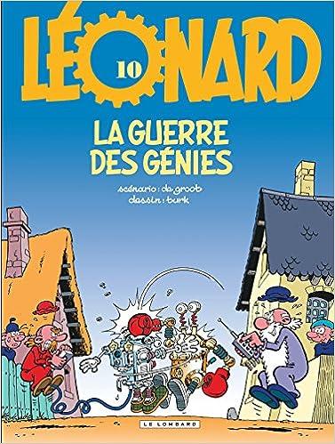 Léonard, tome 10 : La Guerre des génies
