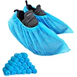 200pack(100 pairs) Shoe Cover Boot Covers, Lyncmed Disposable Shoe Cover Booties for Indoors, Hospital & Construction…