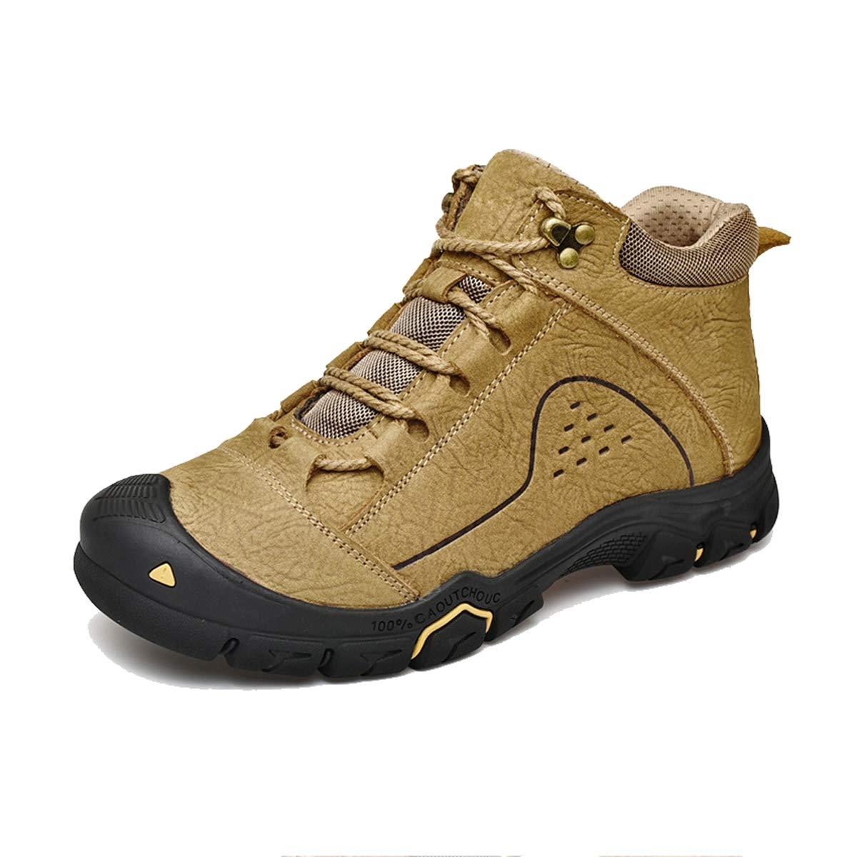 B GDXH Nouvelles Chaussures,Mens Chaussures de randonnée Jungle Trekking Chaussures Lacets Chaussures imperméables Chaussures Basses-Haut 42EU