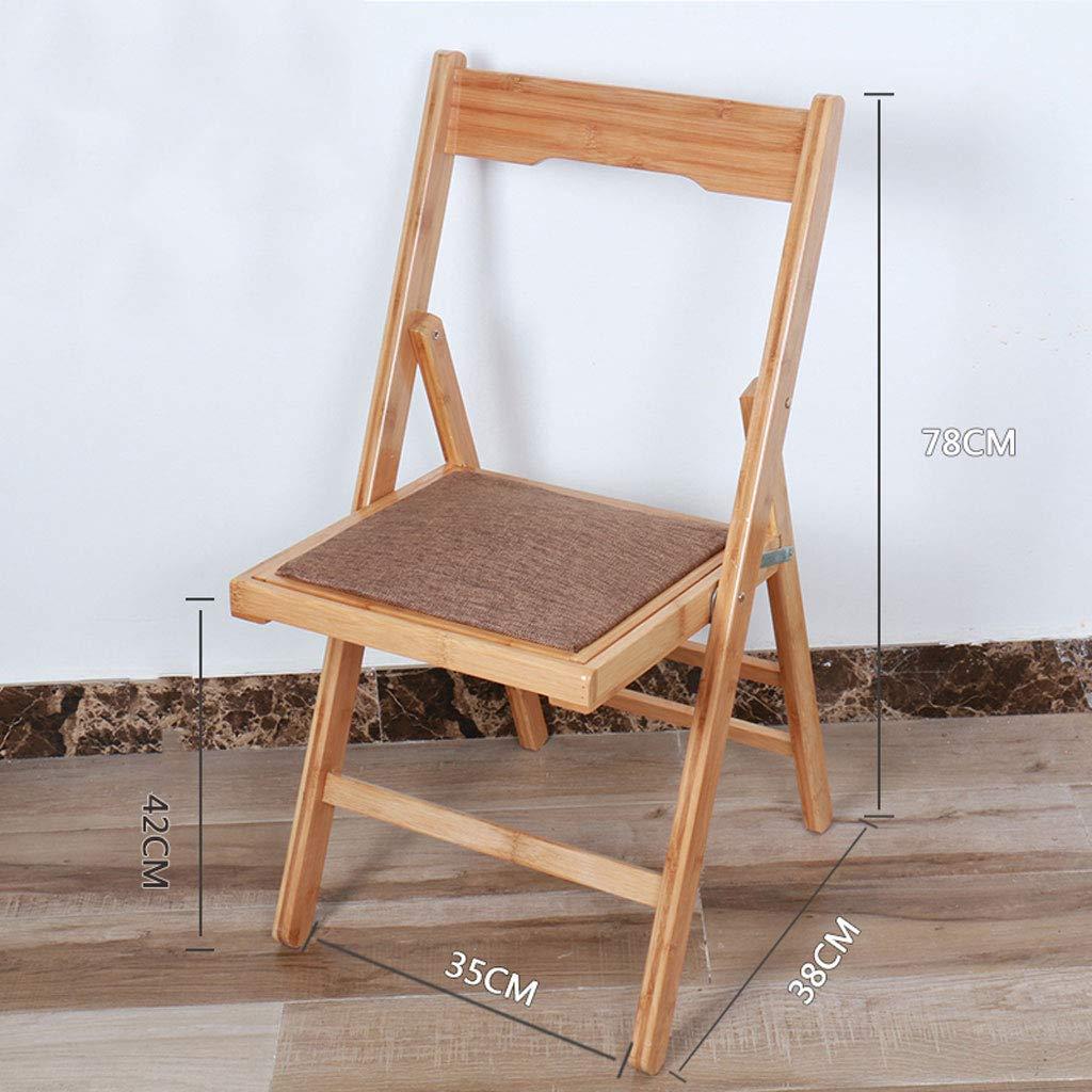 Dqmsb Portable Klappstuhl Hause Esszimmer Stuhl Büro Büro Büro Faul