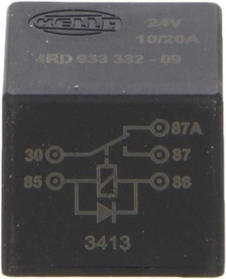 Arbeitsstrom für Elektrische Universalteile HELLA 4RD 933 332-411 Relais