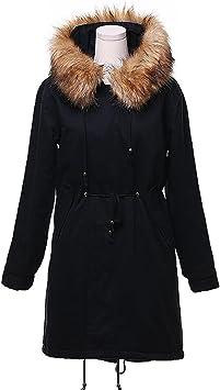 Manteau Femmes Hiver Toamen Encapuchonné Manteau de coton