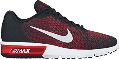 half off 9b157 5783b Nike Air Max Sequent 2 Mens Running Shoes (7 M US, Black White
