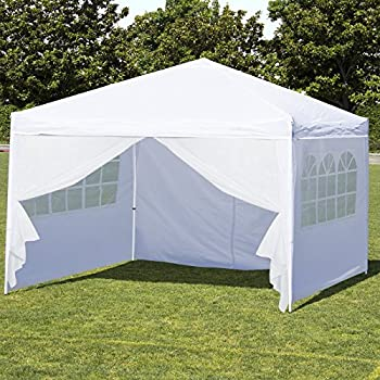Best Choice Products 10u0027 x 10u0027 EZ Pop Up Canopy Tent Side Walls u0026 Carrying Bag & Amazon.com : Best Choice Products 10u0027X10u0027 EZ Pop Up Canopy Tent W ...