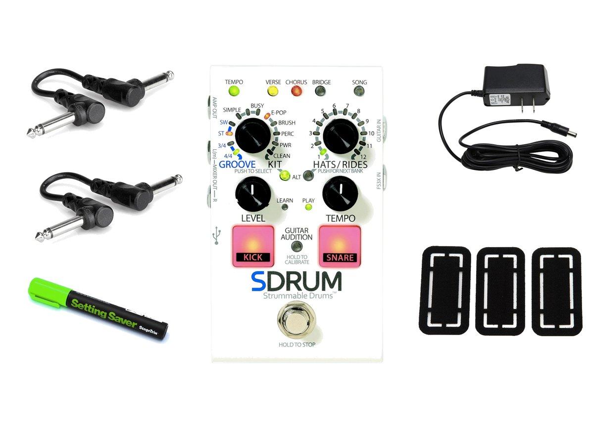 DigiTech SDRUM Strummable Drums PRYMAXE PEDAL BUNDLE