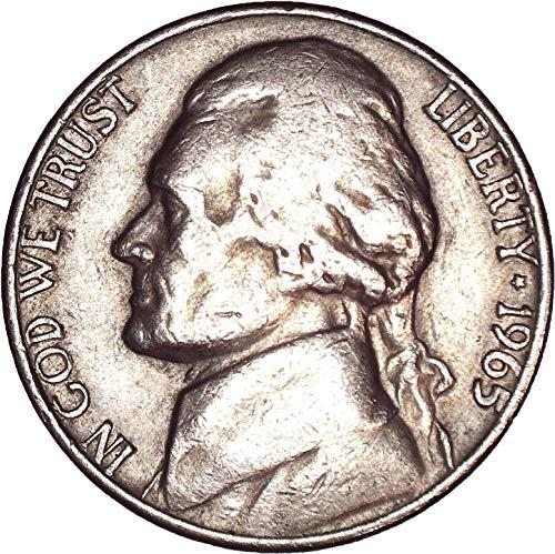 1965 Jefferson Nickel 5C Very Fine (Mint Nickel Jefferson Ngc)