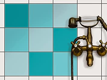 Fliesendekoration Klebefliesen   CREATISTO Fliesenfolie | Fliesen Folie  Sticker Aufkleber Badezimmer Fliesen Deko Küche