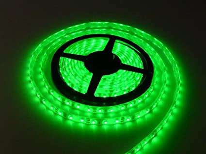 Amazon cmc led light strip lamp green waterproof strip indoor cmc led light strip lamp green waterproof strip indoor outdoor led strip lights smd 2835 164 mozeypictures Images