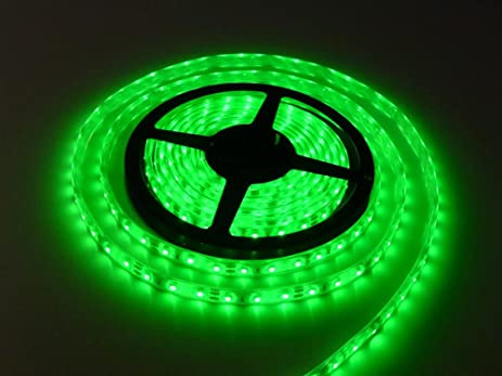 CMC LED Light Strip Lamp Green Waterproof Strip Indoor Outdoor LED Strip  Lights SMD 2835 16.4