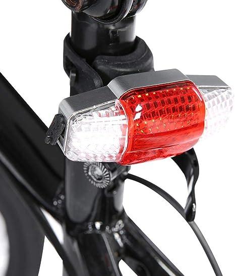 VGEBY1 Luz de Cola de Bicicleta, Freno COB Intellighent Turnning ...