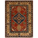 """Ecarpetgallery Hand-knotted Finest Gazni Red 2'9"""" x 3'9"""" 100% Wool Traditional area rug"""