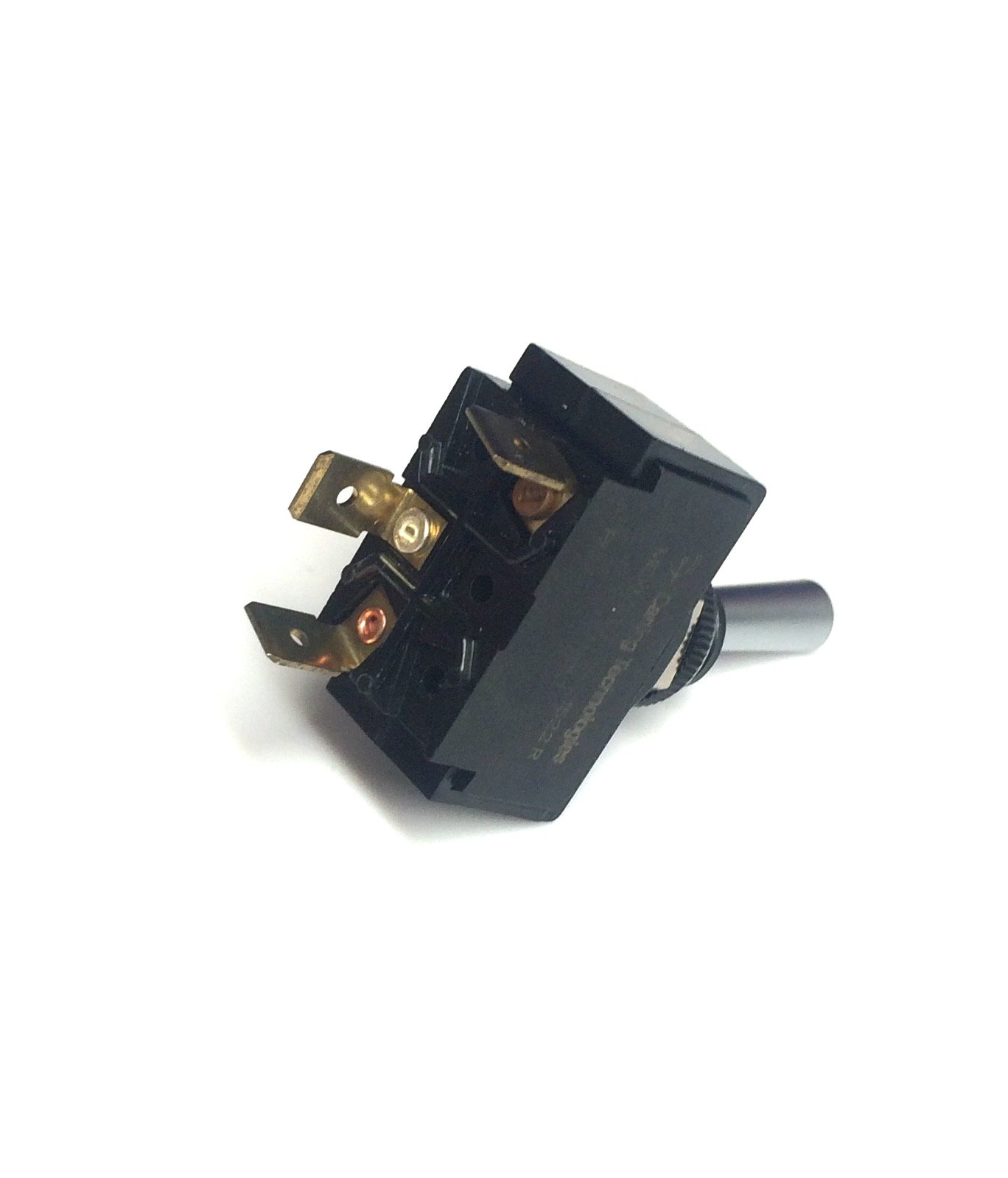 Toggle Switch ON/OFF, SPST, Lighted with a Red Lens by Carling/Cole Herse switches