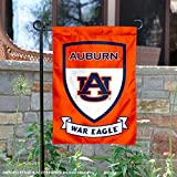 College Flags and Banners Co. Auburn Tigers Shield Garden Flag