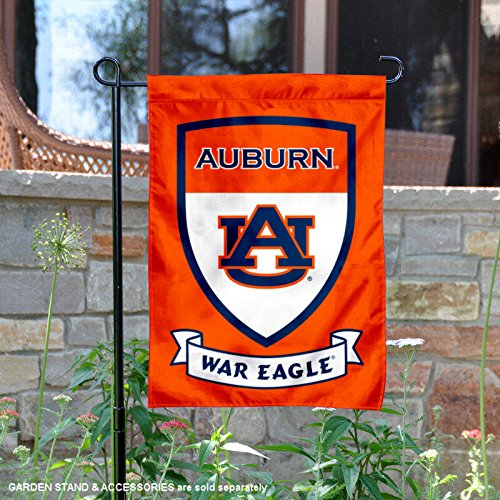 nners Co.. Auburn Tigers Shield Garden Flag ()