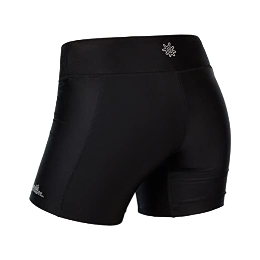 8c760be196 Amazon.com: UV Skinz UPF 50+ Women's Active Swim Shorts: Clothing