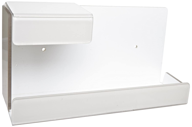 Zing 7223 Eco Dispensador de guantes, solo caja, soporte universal, color blanco, 10.5lx6wx4h, plástico reciclado: Amazon.es: Amazon.es
