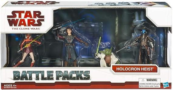 Star Wars The Clone Wars - Pack de Combate holocron Heist (Bane ...