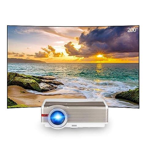 MQQ Entrada HD inalámbrico Proyector de vídeo HD de Cine en casa ...