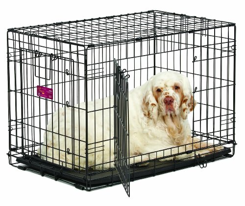 MidWest Homes for Pets Life Stages ACE Double Door Dog Crate ()