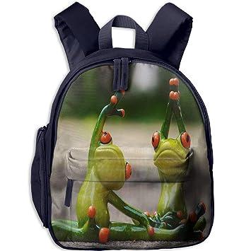 YingaiOK Funny Frog Do Yoga Toddler Kids Pre School Bag Cute ...