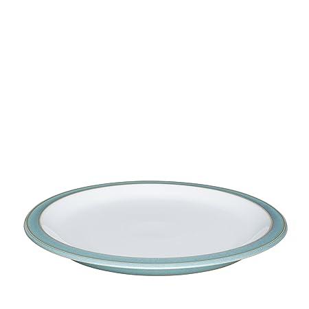 denby azure dinner plate 26 5 cm amazon co uk kitchen home