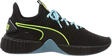 Amazon.com   PUMA Women's Fitness Shoes, Black Milky Blue ...