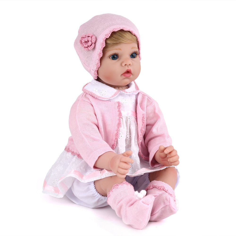Neugeborenes Babypuppe Silikon Lebensechte Geeignet Geschenke Für Alle Feste Gib Deiner Familie Begleitung