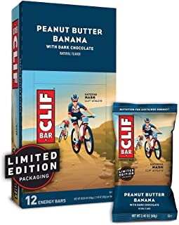 product image for CLIF BAR - Energy Bars - Peanut Butter Banana Dark Chocolate - (2.4 Ounce Protein Bars, 12 Count) Packaging May Vary