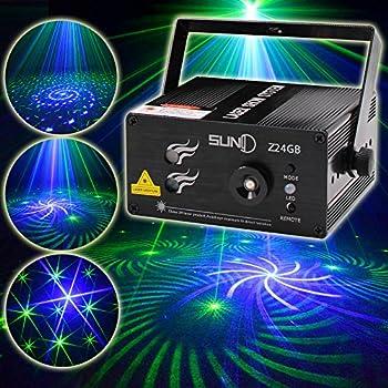 Amazon Com Laser Light 40 Patterns Led Projector Dj Gear