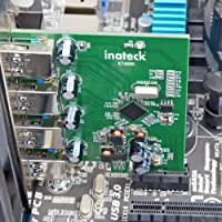 Amazon.com: Inateck 4 Ports PCI-E to USB 3.0 Expansion Card ...