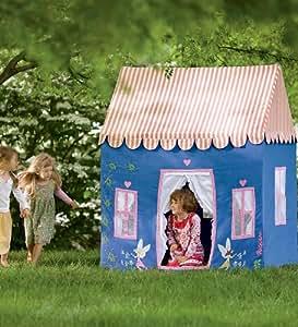 100% Cotton Canvas Indoor/Outdoor Fairy Dream Cottage