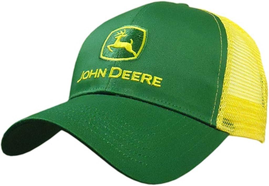 Gorra con logotipo de John Deere, para hombre, parte trasera de ...