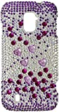 Zizo ZTE Majesty Z796c/ZTE Source N9511 Full Diamond Design Cover - Retail Packaging - Purple Beats