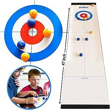 Tolyneil Juego de Mesa de Curling, más Divertido Juego de Mesa de ...