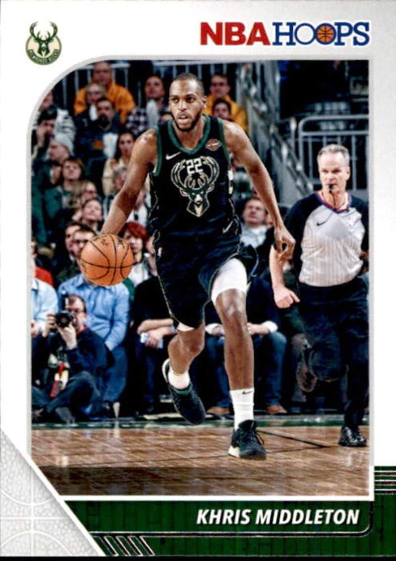 2019-20 Panini NBA Hoops #107 Khris ...
