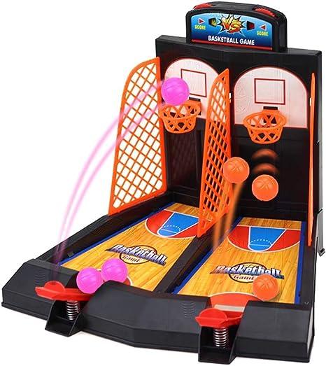LRHD infantil dedo niños y niñas Doble Catapulta de baloncesto Juegos de mesa, Juegos de Disparos Temprana Educación Juguetes educativos, padres e hijos interactivos inteligencia y juguetes de la inte: Amazon.es: Bebé