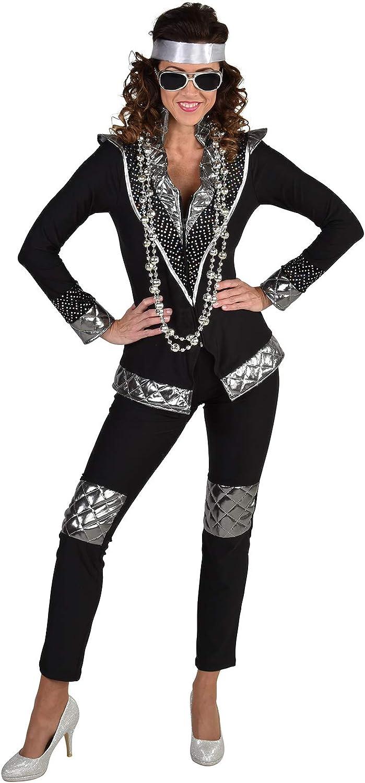 Disfraz Glam Rock KISS de los años 70 y 80 - XL 18/20: Amazon.es ...