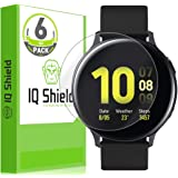 IQ Shield Screen Protector Compatible with Samsung Galaxy Watch Active2 (44mm, 2019)(6-Pack) LiquidSkin Anti-Bubble…